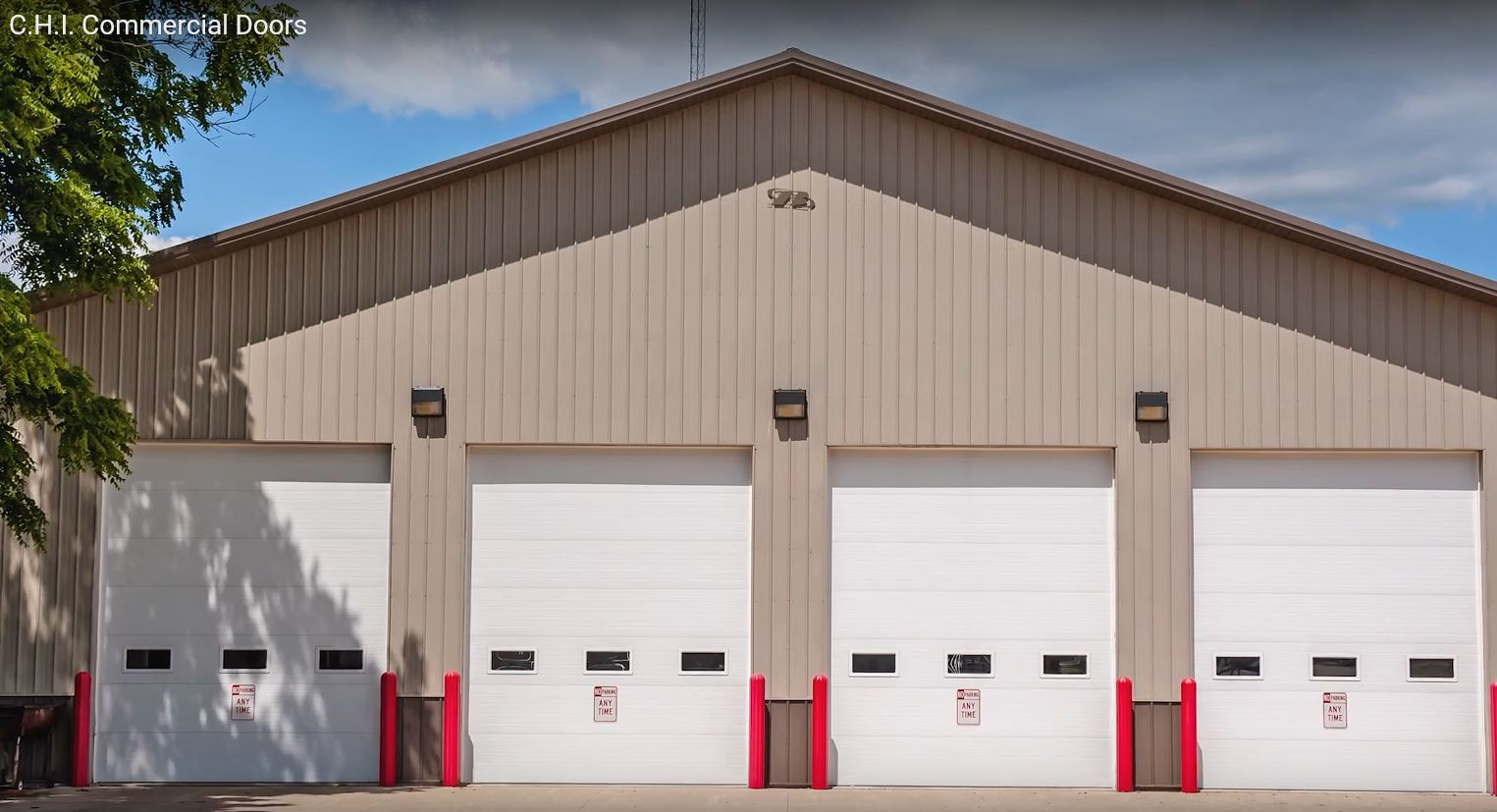 C.H.I. Commercial Overhead Doors Are Constructed Using The Finest Raw  Materials, Produced By The Hands Of Skilled Craftsmen, And Customized With  ...